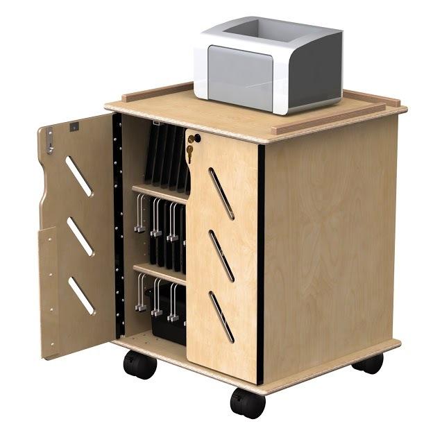 32 slot tablet storage cart